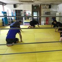 6/28下川原靖也コーチの水曜朝フィットネスクラス練習日記