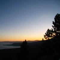 Twilight at Lake Tahoe