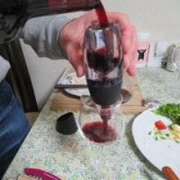 お手頃ワインもまろやかに、