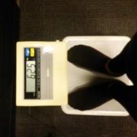 今日の体重 62.5