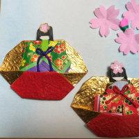折り紙(お雛様)