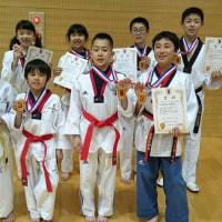 2017愛知県テコンドー選手権大会