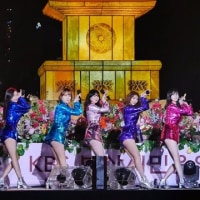 釜山提灯祭りのハロービーナス