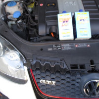 VW GOLF5/GTI のオイル交換。