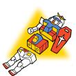 「RX78-2」機動戦士ガンダム(似顔絵)