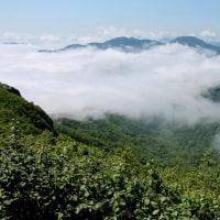雲海広がる手稲山より