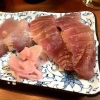 明るいうちから飲むなら、やっぱり夏がエエですな~♡~今日のお店:なんばの狭~い寿司屋「中津川」。