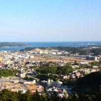 安波山にて (2016年5月 気仙沼)