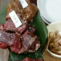 飯田にて 馬焼き肉
