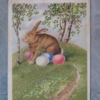 オーストリアのアンティーク・イースターカード