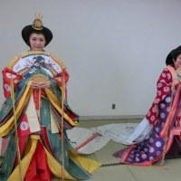木更津市郷土博物館「金のすず」装束体験