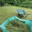 草刈り 家の周りは遙かぶり