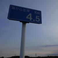 暑いうちに走っとこー。定時で上がって51㎞( ^^) _旦~~。