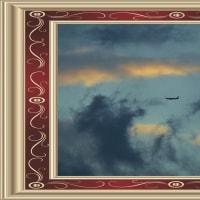 西の空・平成28年10月25日(火)午後5時16分