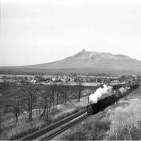 蒸気機関車 大沼と駒ヶ岳