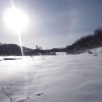 秋田 田沢湖高原スノーシューハイキング