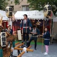 いよいよ、飯五の祭りでい!。今日は宵宮です。