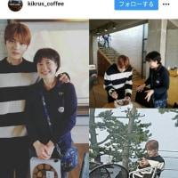 ジェジュンが行った江原道のカフェ【kikrus_coffee Instagram】ジェジュンと記念写真 (◍•ᴗ•◍)( ・ᴗ・ )