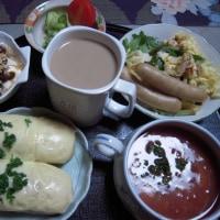 シニア夫のガッツリ朝食