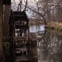冬の万水川