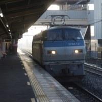 EF66-127号機@吹上駅