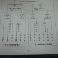 10月の練習計画(改訂版)