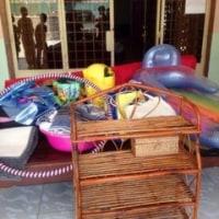 カンボジア孤児院に沢山のご支援の品々を頂きました