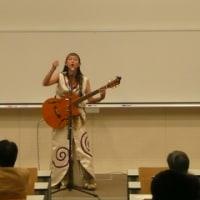 日本考古学協会・南山大学大会で歌わせていただきました。