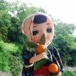 昭和ポーズ人形的お土産人形 大三島みかんちゃん?