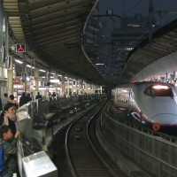 東海道新幹線東京駅14番線 (東京さ行っただ! その9)