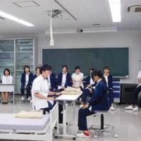 臨床工学技士科 2年生 臨床実習後の接遇発表会
