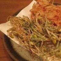 大豆モヤシの天ぷら