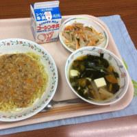ジャージャー麺 5月25日