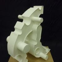 ケント紙を使った立体構成