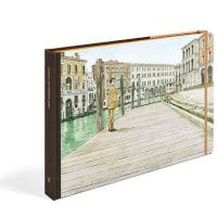 谷口ジロー先生が描かれた ルイ・ヴィトンの「トラベルブック」 (ヴェネツィア)