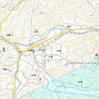二匹の魚と同距離に弘法山