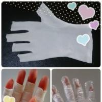 綿の手袋の効用
