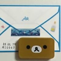 【イルカ】ミニレターセット