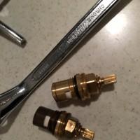 浄水器   バルブ交換