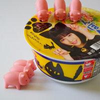すずネコちゃんと子ブタちゃん(Suzu-cat  and pigs)