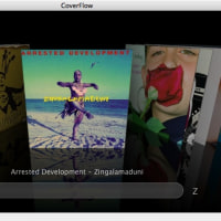 CoverFlow��iTunes�˼����ޤ�ޤ���