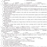 同志社大学・英語 1