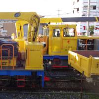 南海電鉄工務部車両MCーNo.611&MCーNo.614