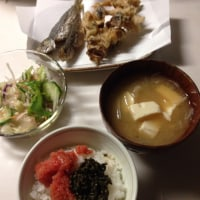 本日(10/17)の夕定食でございます🤗