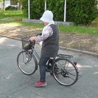 母ちゃん、二度目の自転車特訓!