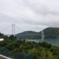 歩いて愛媛県に行ってきました❗
