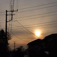 2月26日、午後4時過ぎの空模様