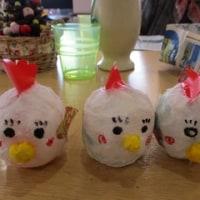 酉の干支飾り・クリスマス会・餅つき