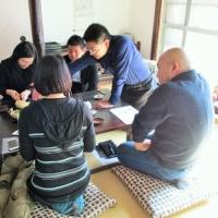 410煎  柿ノ木ノ下でお茶講座を行いました