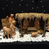 教会⛪️のクリスマス🎄の飾りつけ…
